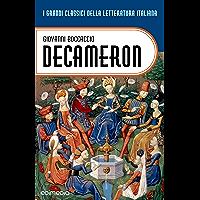 Decameron (annotato) (I Grandi Classici della Letteratura Italiana Vol. 15) (Italian Edition) book cover