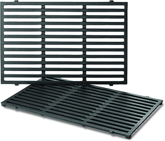 Weber 900 Denmay 44.5 cm Cooking Grid Grates for Weber Spirit 300 Series Genesis 1000-3500 Replaces for 7638 7639 Spirit E//S 310 Genesis Gold Silver Platinum B//C E//S 330 Spirit 700 E//S 320