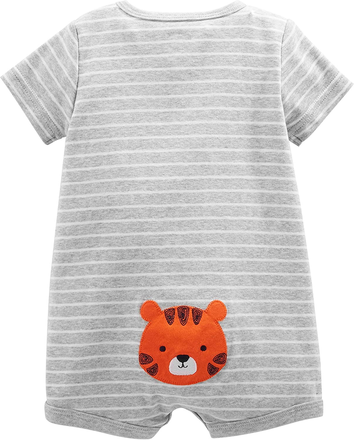 Pacco da 3 Simple Joys by Carters 3-Pack Snap-up Rompers Bimbo 0-24