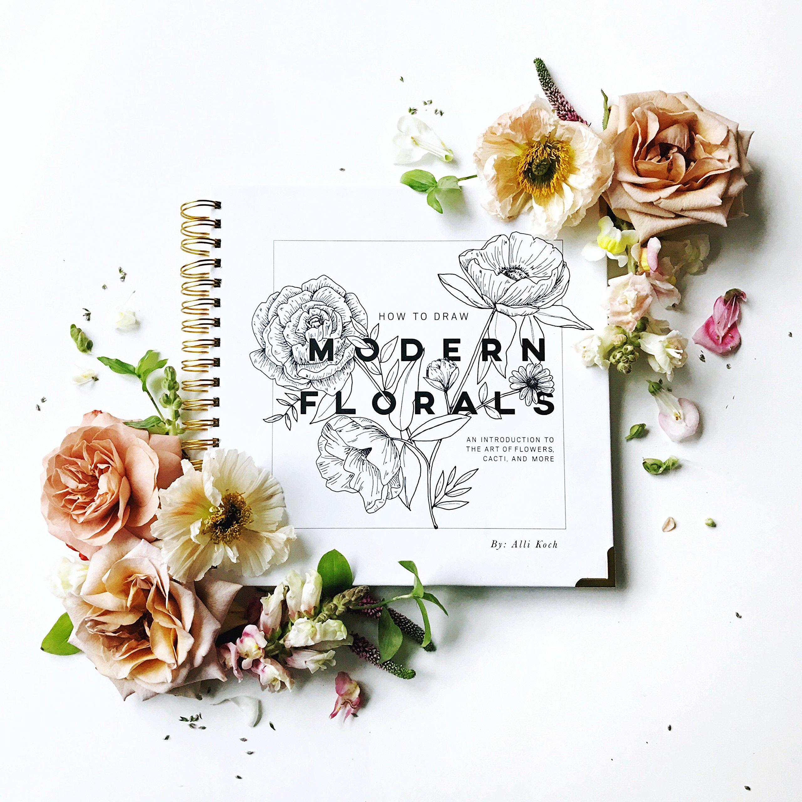 Amazon How To Draw Modern Florals An Introduction To The Art
