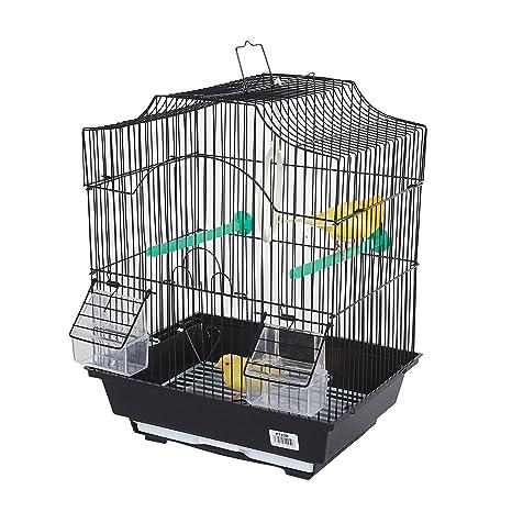 Pet Ting Jaula para pájaros pequeños Freesia, Canarios, periquitos ...