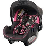Obaby Group 0 Plus Infant Car Seat (Grey Rose)