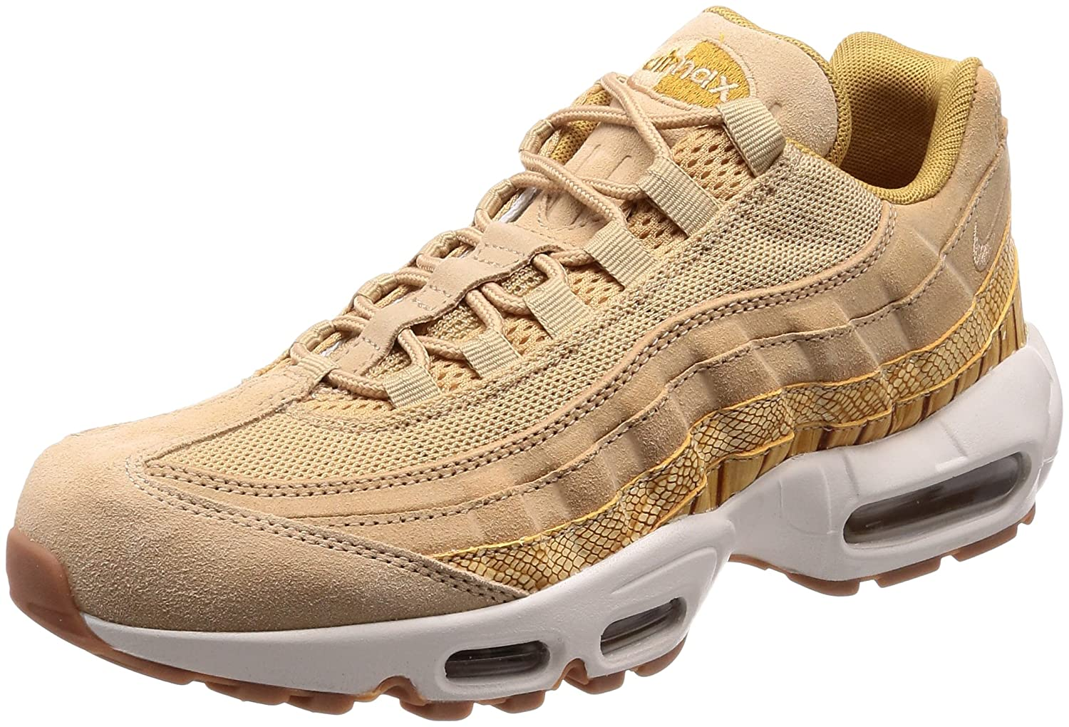 new product a72d3 410fb Amazon.com | Nike Mens Air Max 95 Premium SE Vachetta ...