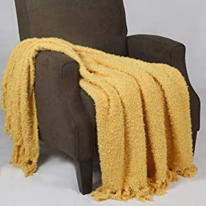 Home Soft Things Fluffy Throw Blanket 60