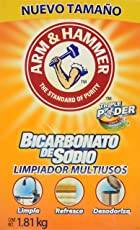 Arm & Hammer Bicarbonato de Sodio Limpiador Multiusos, 1.8 kg