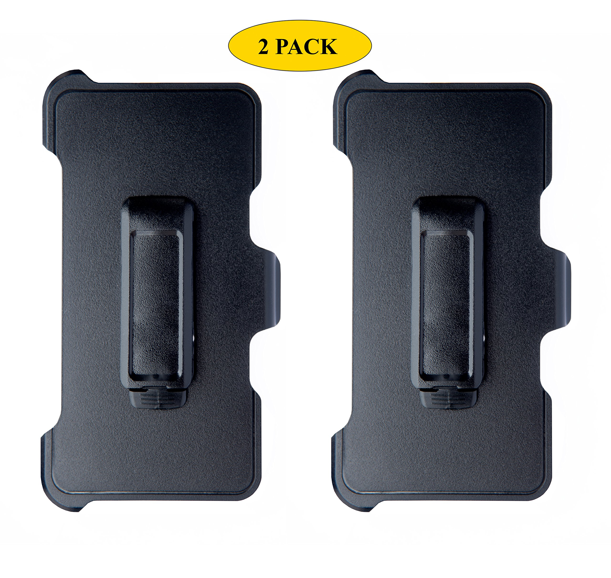 AlphaCell Holster Belt Clip Replacement Compatible with OtterBox Defender Series Case for Apple iPhone XR (ONLY) - 2 Pack by AlphaCell