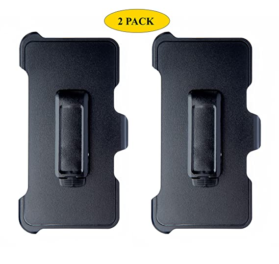 buy online f9761 fa1df AlphaCell Holster Belt Clip Replacement Compatible with OtterBox Defender  Series Case for Apple iPhone 5, iPhone 5S, iPhone SE (ONLY) - 2 Pack