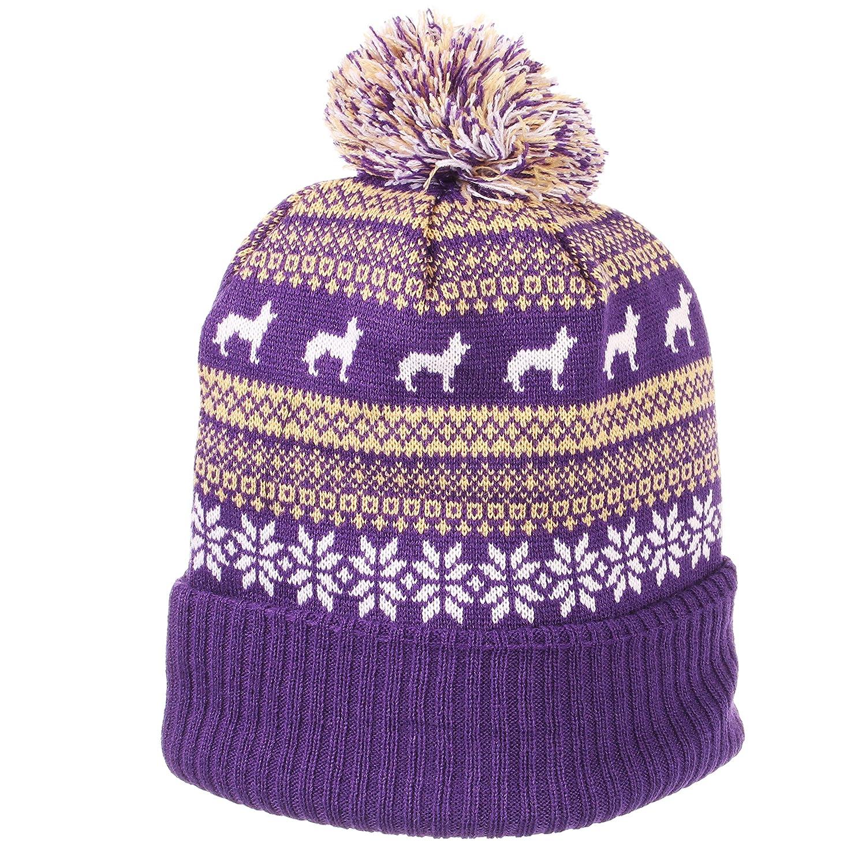 Purple Zephyr Carousel Knit OSFM