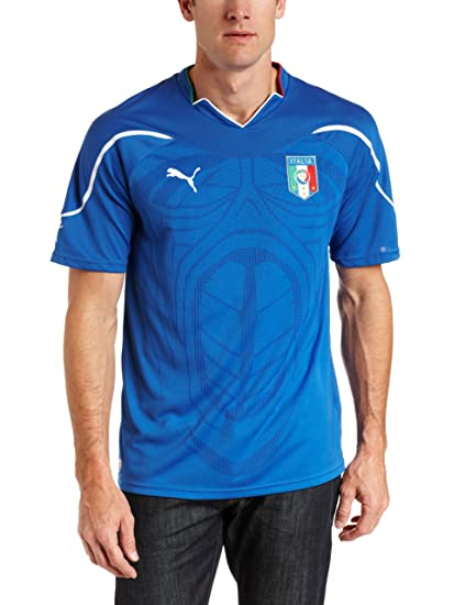 92d8ab6bb5 Amazon.com : Italy Home Replica Soccer Jersey : Sports Fan Jerseys ...