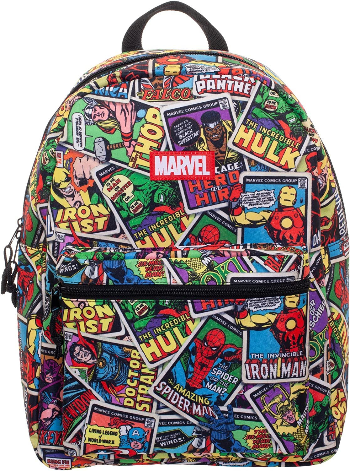 Marvel Comics Classic Comic Book Covers All-Over Print 16 Backpack