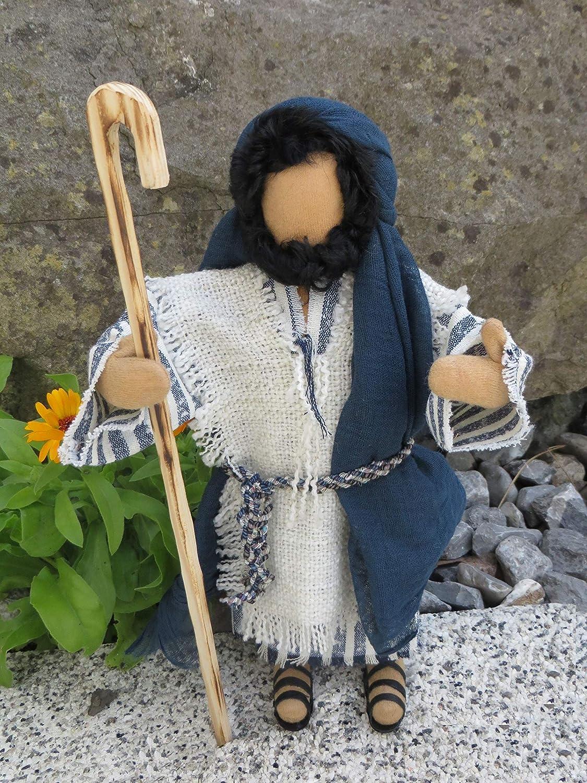 Handgefilzter Hut f/ür Egli-Figur Krippenfigur biblische Erz/ählfiguren