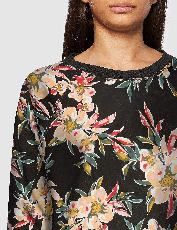 Roxy Damen Enchanted Isle - Sweatshirt für Frauen Sweatshirt Anthracite Wonder Garden S