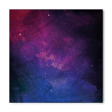 Amazon.com: Galaxy Bandana por Ambesonne, Rosa y azul ...