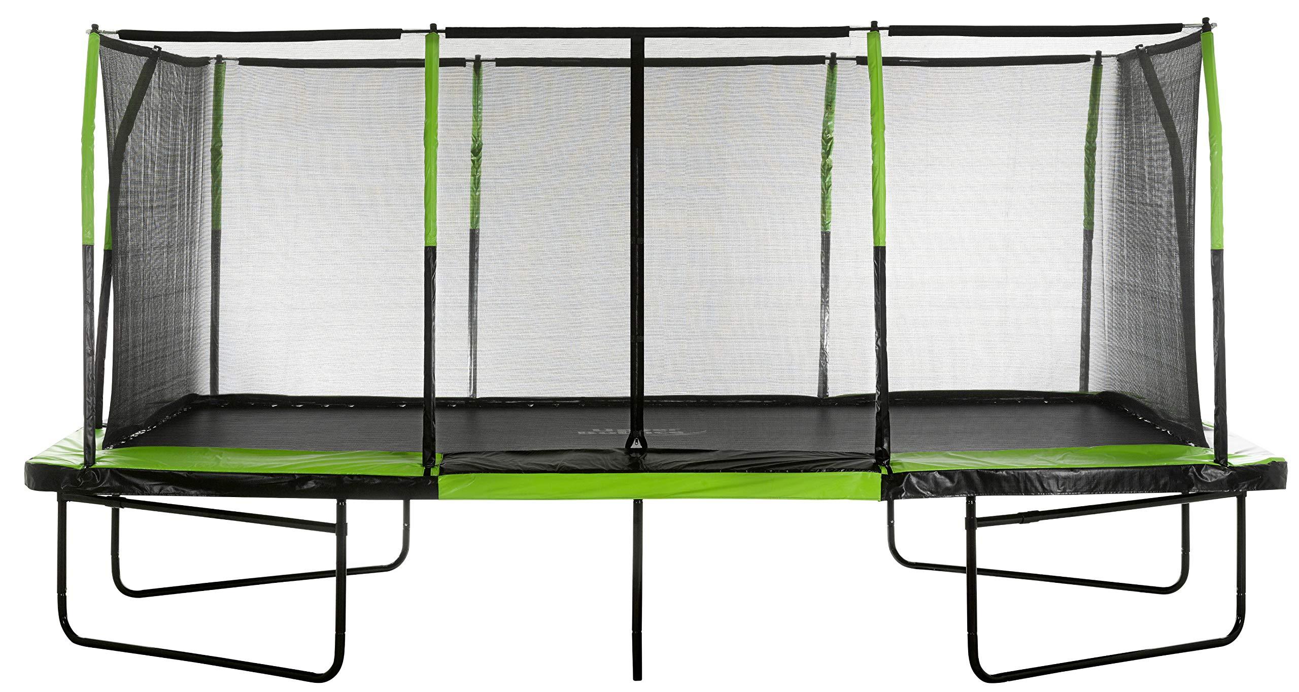 Upper Bounce UBRTG01-1017 - Mega Trampoline 10' x 17' - Fiber Flex Enclosure System - Easy Assemble by Upper Bounce