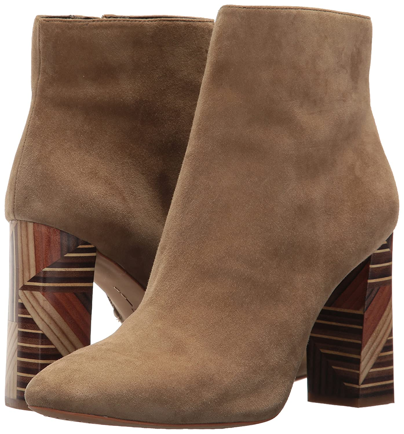 Vince Camuto Women's BRYNTA2 Ankle Boot B071VYYVG5 5.5 B(M) US|Split Pea