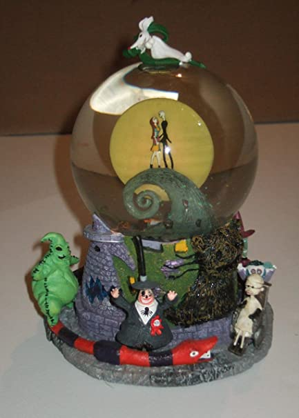 tim burtons the nightmare before christmas first snow globe snowglobe