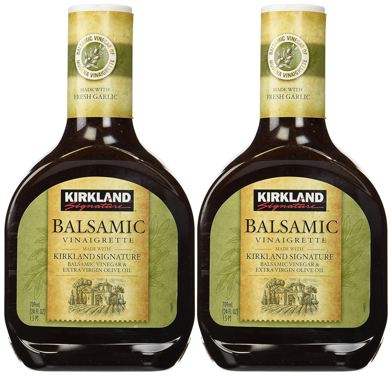 amazon com kirkland signature balsamic vinaigrette 2 pack 24 fl
