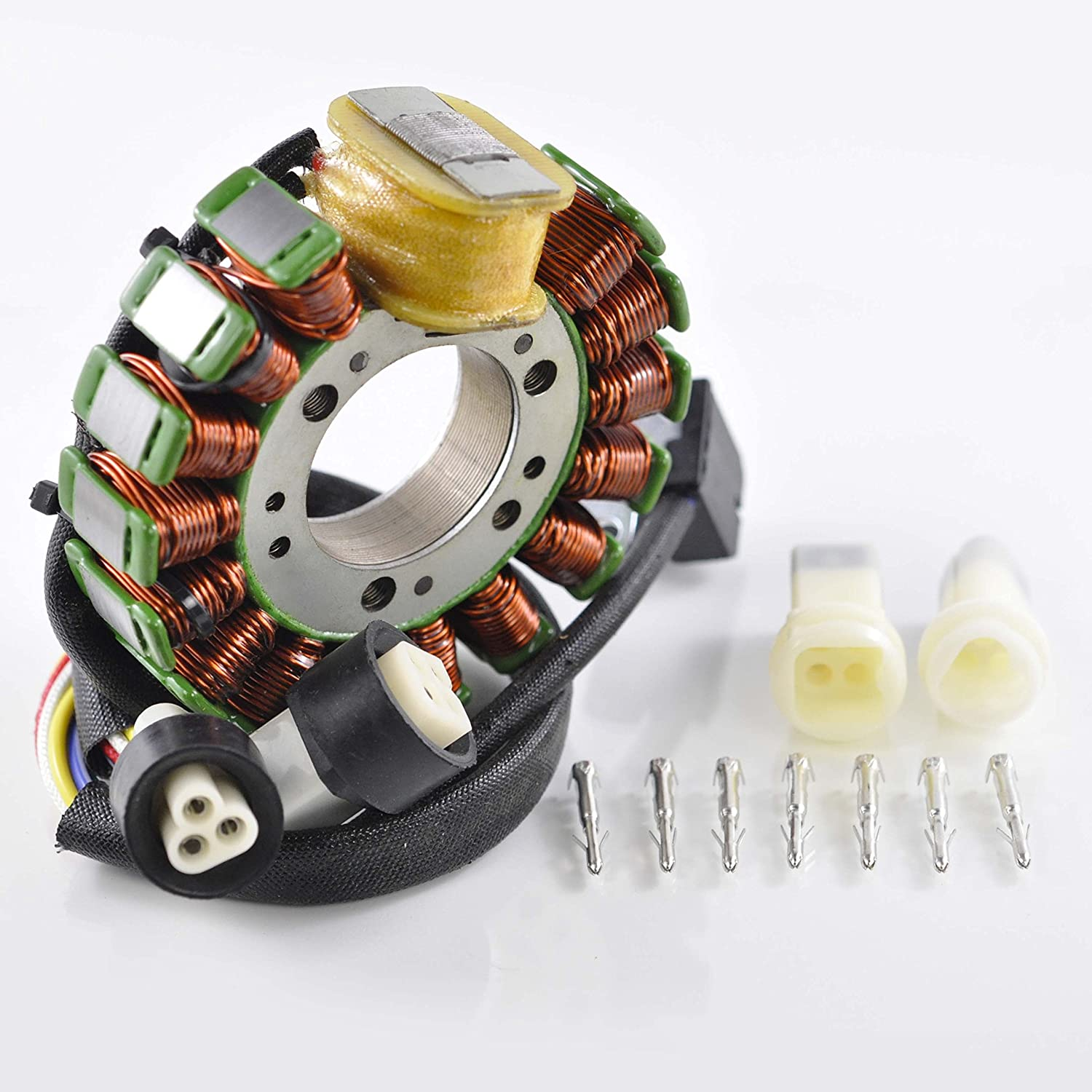 Stator For Yamaha Yfm 225 Moto 4 250 1986 1984 Ytm Wiring 1987 1988 1989 1990 1991 Oem Repl 59v 88510 20 00 Automotive