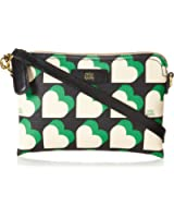 Orla Kiely Textured Vinyl Poppy Cross Body Bag