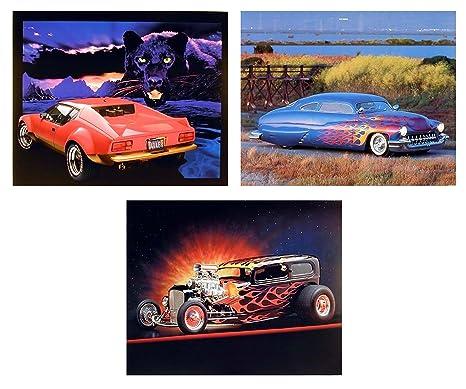 Amazon.com: Pantera rojo Ferrari automóvil Ford Vintage ...