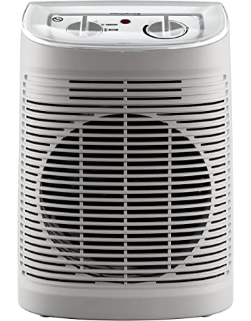 Rowenta SO6510F2 Calefactor Comfort Aqua 2400 W,45 dB, color beige