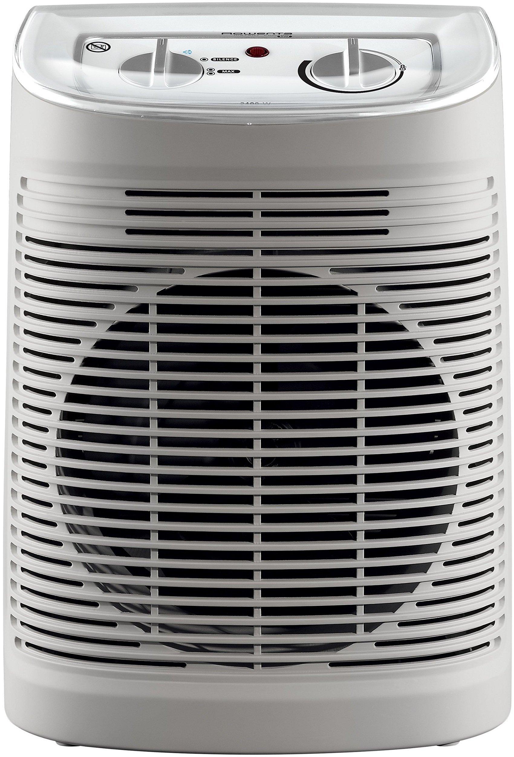Rowenta Instant Comfort Aqua SO6510 - Calefactor 2400 W, apto para baños, función Silence