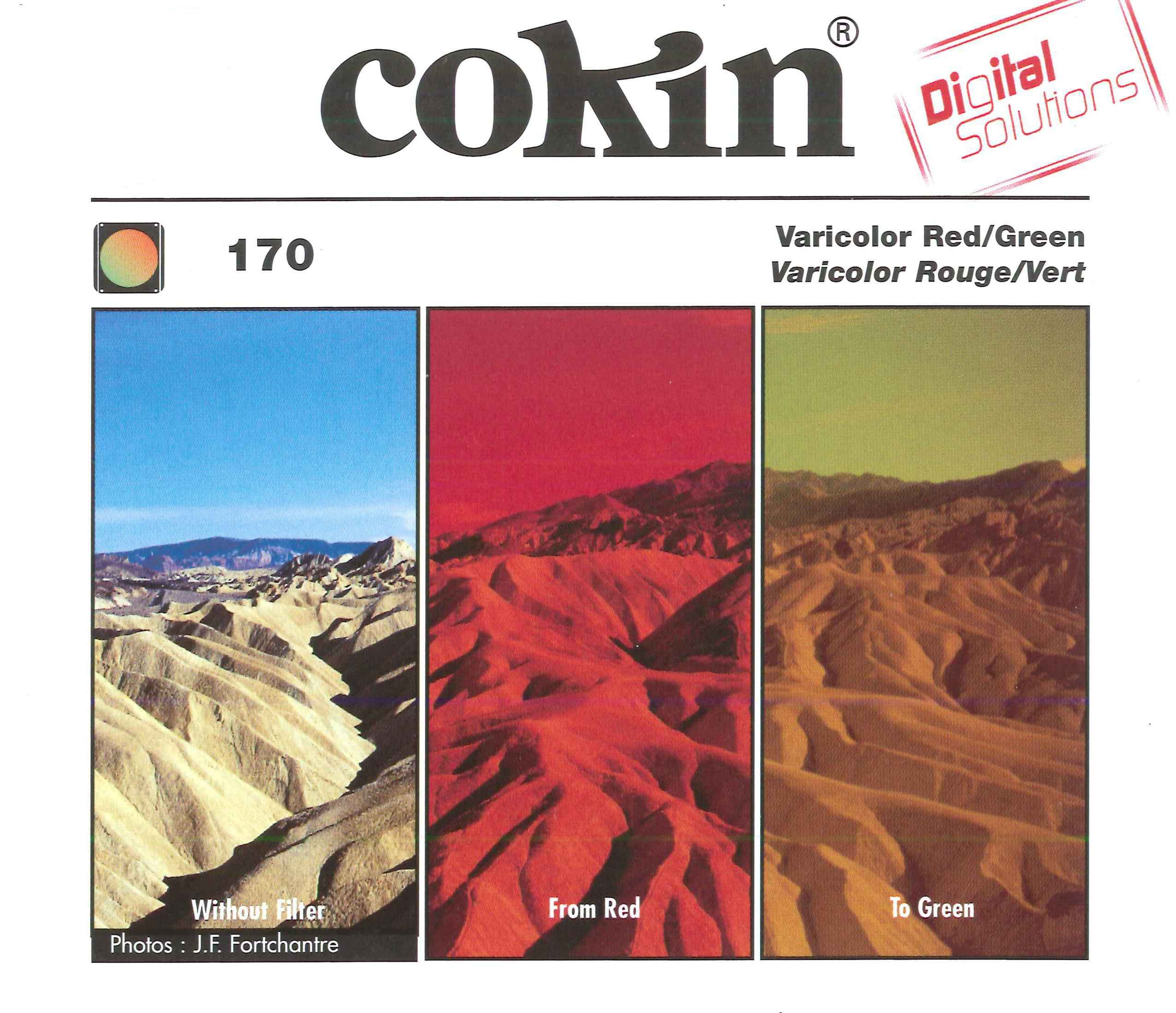Cokin P170 Varicolor Filter with Protective Case (Red/Green) by Cokin