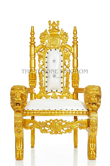 Mini King David Lion Throne Chair For Kids Prince/Princess Throne For Children Birthday  sc 1 st  Amazon.com & Amazon.com: Mini King David Lion Throne Chair For Kids Prince ...