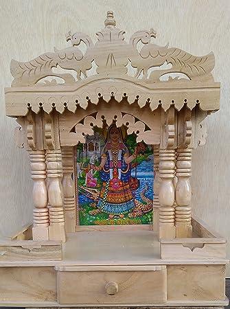 Tip TOP Wooden Temple / Wooden Mandir / Pooja Ghar / Mandir Design In  Rosewood/ Part 91