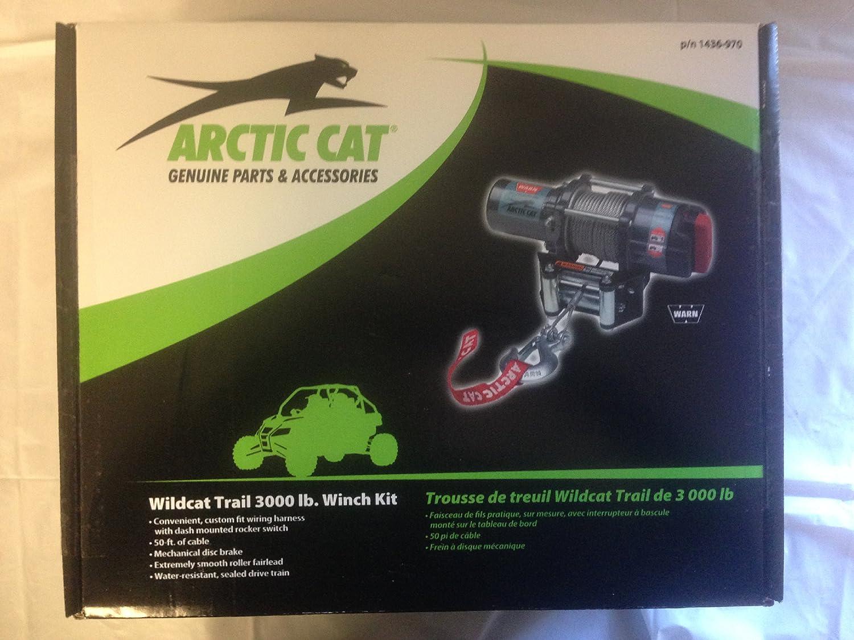 Arctic Cat Wildcat Trail Sport Warn 3000 Lb Winch Kit Winches Wiring Mechanical Brake Switch Amazon Canada