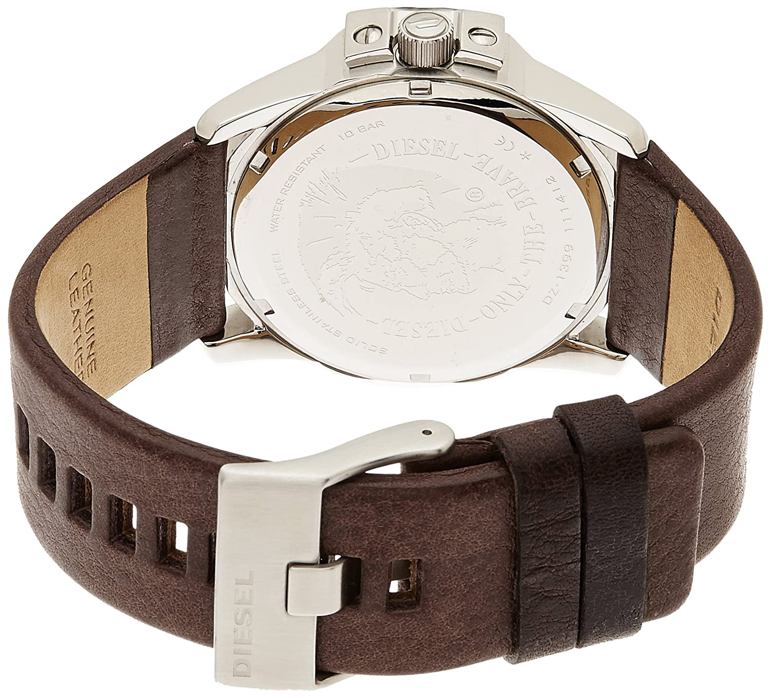 Buy diesel analog blue dial men s watch dz1399i online at low prices in india amazon in