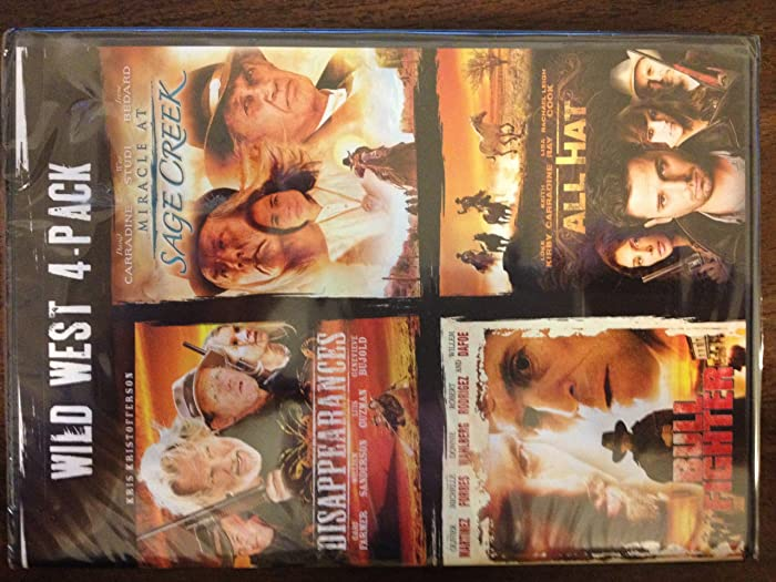Wild West 4-Pack Disappearences / Miracle at Sage Creek / Bull Fighter / All Hat