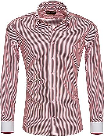 Giorgio Capone Camisa Premium para Hombre, 100% Algodon, Slim ...