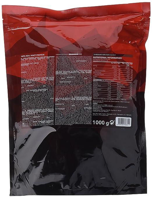 Prozis 100% Real Whey Protein, Galletas y Crema - 1000 gr: Amazon.es: Salud y cuidado personal