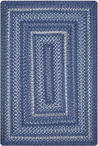Indigo Pure Comfort Braided Area Rug