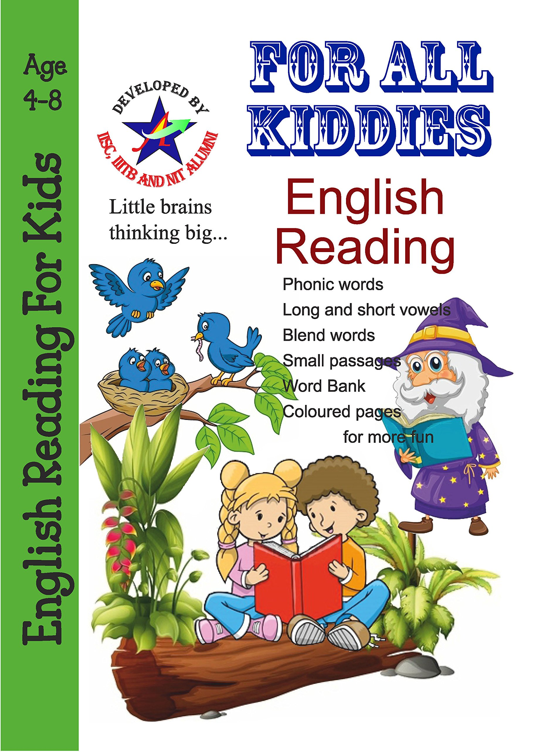 Amazon.in: Buy English Reading for Beginners Covers Phonic ...