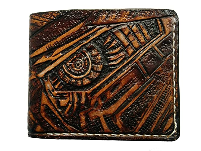 2340a7664d Amazon.com  Men s 3D Genuine Leather Wallet