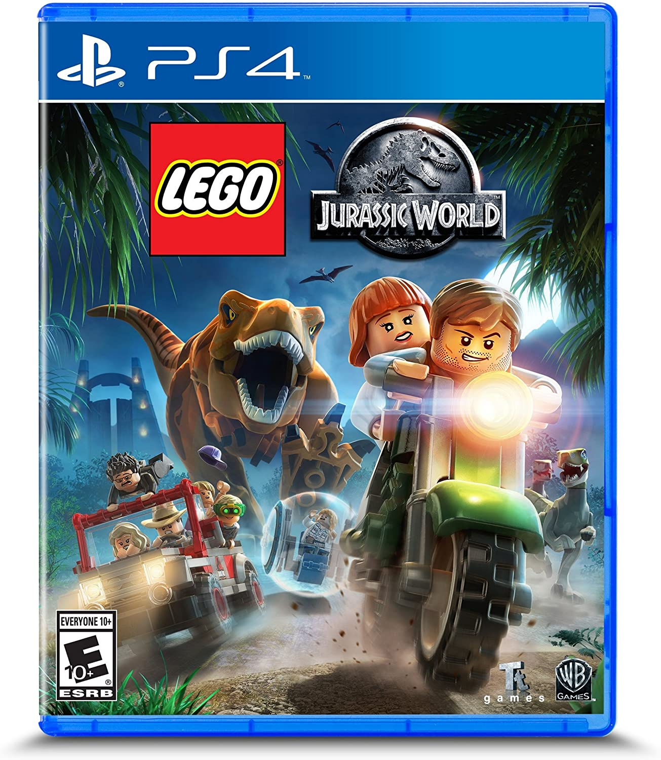 lego jurassic world ps4 video game