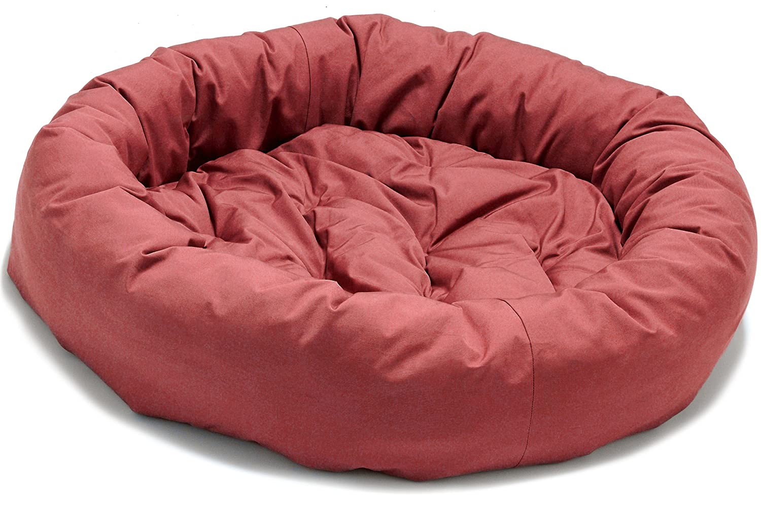 S Dog Gone Smart Donut Bed with Repelz-It, Small, Red