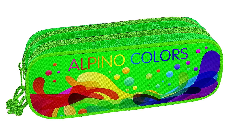 Alpino UA000139, Portatodo con Doble Cremallera, Multicolor ...