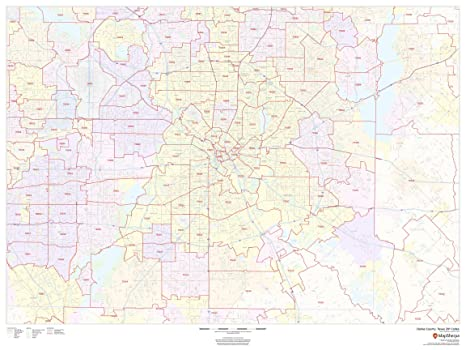 Amazon.com : Dallas County, Texas Zip Codes - 48