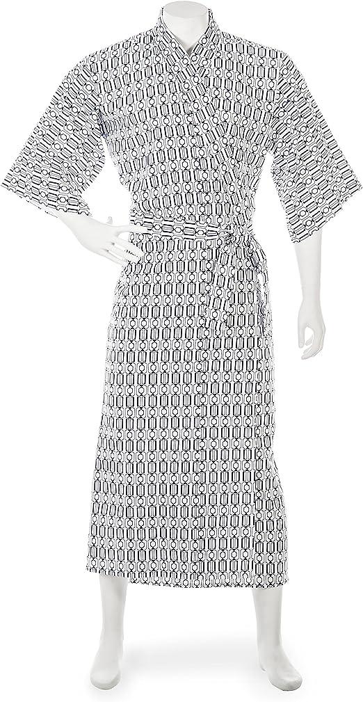 Para hombre algodón japonés Kimono Nemaki: Amazon.es: Hogar