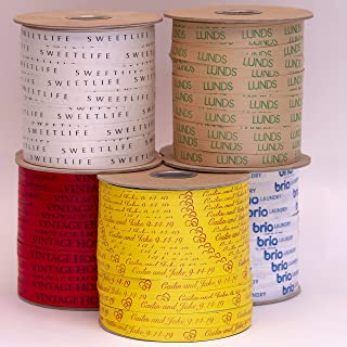 """product image for Personalized 100% Biodegradable Natural Ribbon 