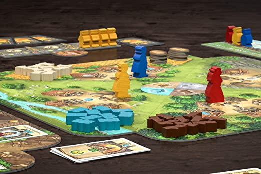 Pegasus Spiele 55145G Crown of Emara - Juego de Mesa (Contenido en alemán): Amazon.es: Juguetes y juegos