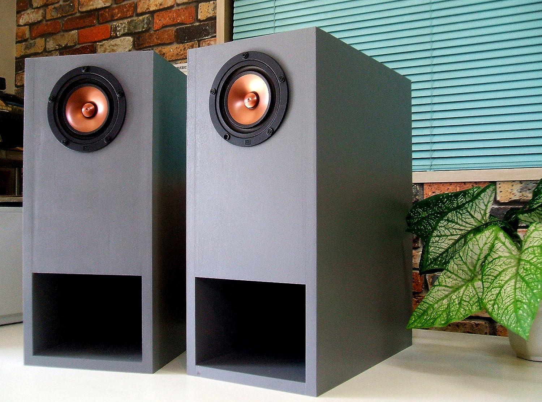 バックロードホーン.スピーカーシステム MarkAudio Pluvia7(VintageGold)■カスタム品.2本1組   B01E8E8JDI