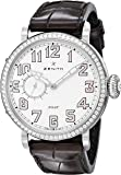 Zenith Women's 161930681.31C Pilot Analog Display Swiss Automatic Brown Watch