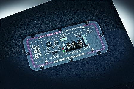 Mac Audio Ice Cube 108 A Black Series Aktiver Elektronik
