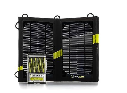 Goal Zero Cargador Solar Guide 10 + Adventure Kit