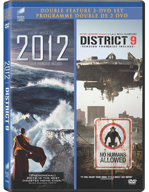 Amazon Com 2012 District 9 Double Feature 2 Dvd Set John Cusack Amanda Peet Chiwetel Ejiofor Sharlto Copley Nathalie Boltt Roland Emmerich Neill Blomkamp Movies Tv
