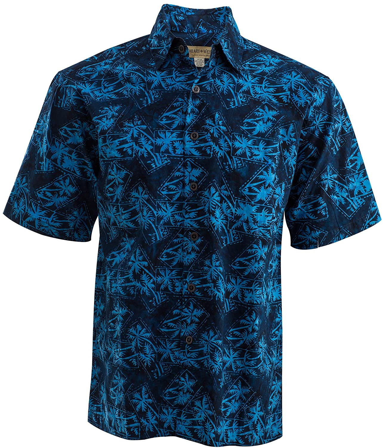 5c4ae15e 100% NATURAL COTTON – This shirt is made from the highest quality  Indonesian cotton with single breast pocket. HAND PRINTED BATIK DESIGN –  Each shirt is ...